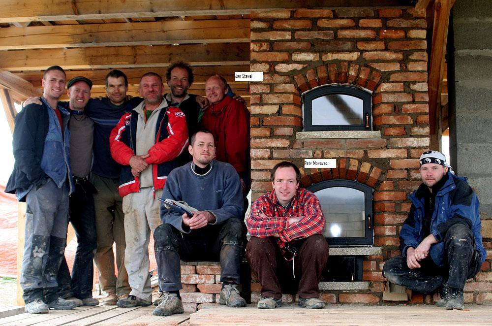 Masonary Stove workshop Czech Republic